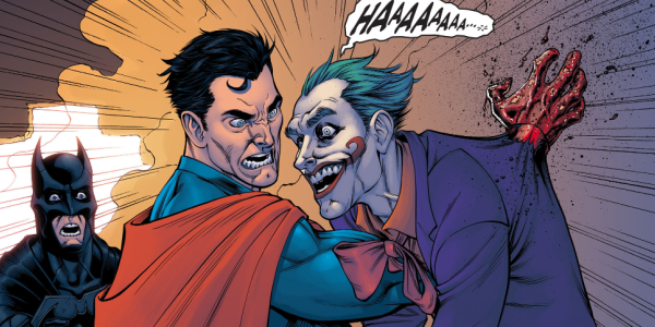 superman mata coringa